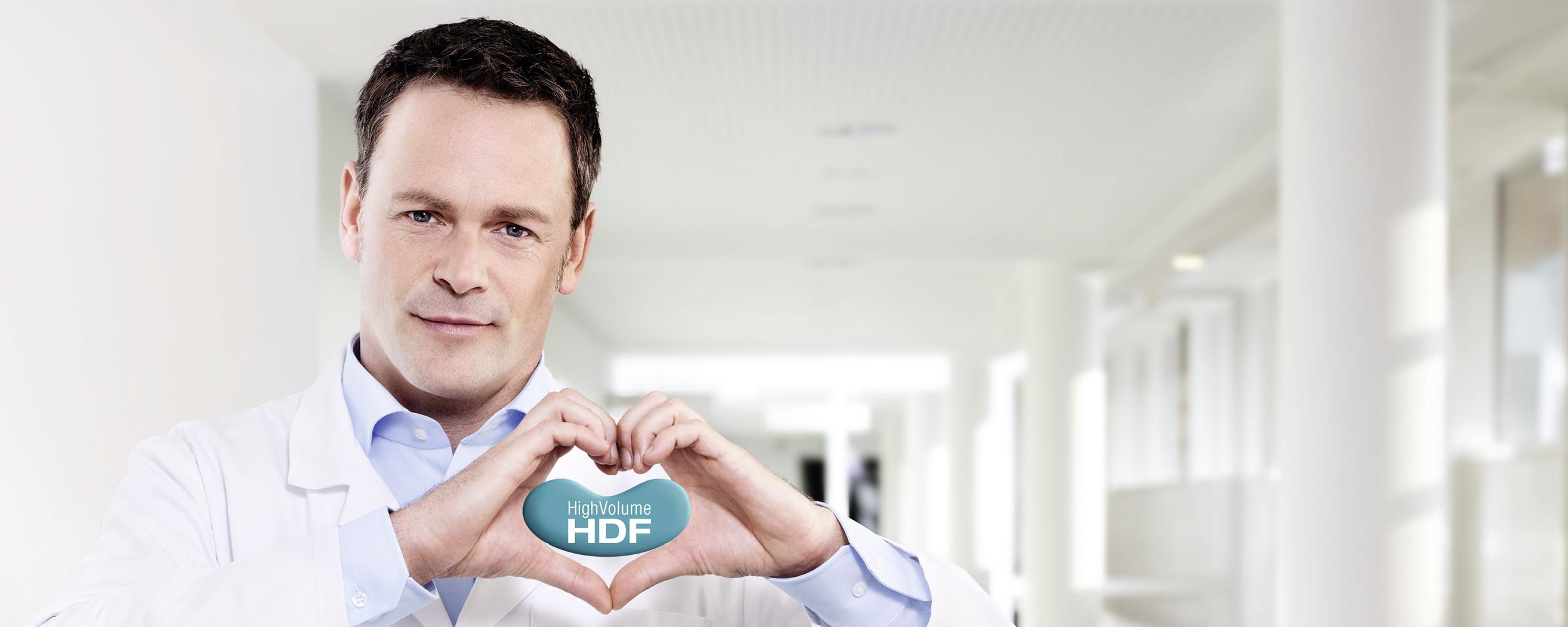 [Translate to Spanish (Argentina):] HighVolumeHDF® de Fresenius Medical Care